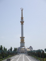 Monument to the Independence of Turkmenistan - www.countrybagging.com