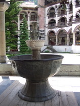 Font at Rila Monastery - www.countrybagging.com