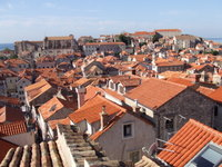 Dubrovnik rooftops - www.countrybagging.com
