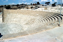Amphitheatre at Kourion - www.countrybagging.com