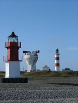 Point of Ayre Lighthouses - www.countrybagging.com