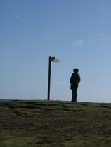 At the Point of Ayre Lighthouses - www.countrybagging.com