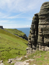 Lundy Cliffs - www.countrybagging.com