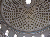 Mosta Cathedral Dome - www.countrybagging.com