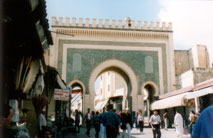 Bab Bou Jeloud,  Fez - www.countrybagging.com