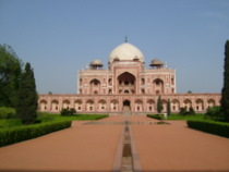 Humayun's Tomb - www.countrybagging.com