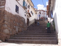 Cuzco backstreets - www.countrybagging.com