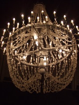 Salt Chandelier - www.countrybagging.com