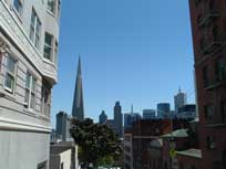 San Francisco skyline - www.countrybagging.com