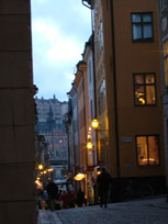 Streets of Gamla Stan - www.countrybagging.com