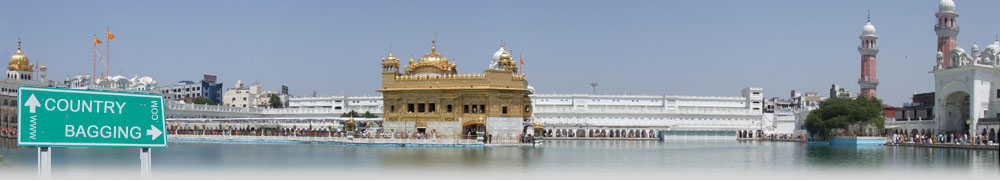 The Golden Temple, Amritsar - countrybagging.com
