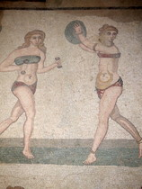 Roman Keep Fit Mosaic - countrybagging.com