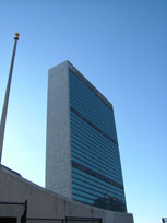 The UN building, New York - countrybagging.com